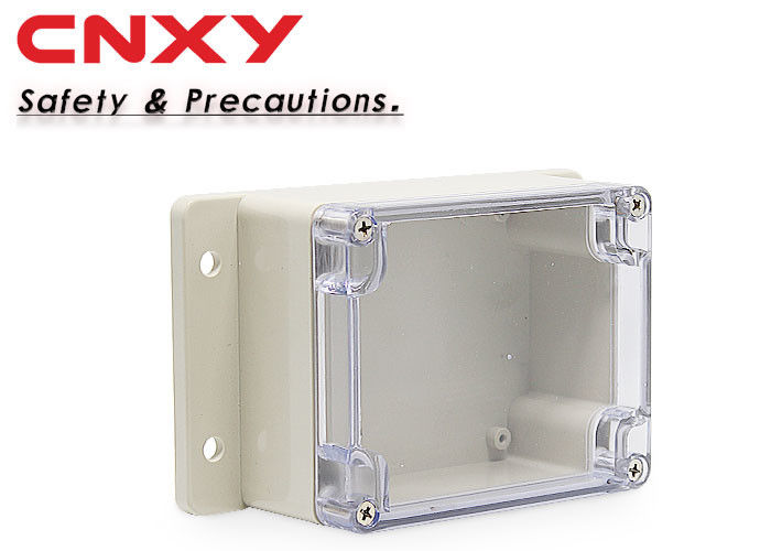 Shock Resistance Flanged Plastic Box -40 ℃ To 1200 ℃ Temperature Range